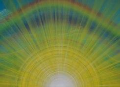 """""""Birth of the Sun"""" Acryl on Canvas, 2014"""