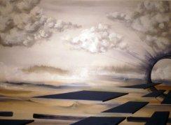 """""""Der Pfad"""", Acryl on Canvas"""