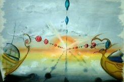 """""""Der Sonne entgegen´"""", Pastel on Paper"""