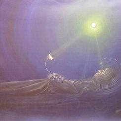 """""""Die Reise zurück ins Licht"""", Acryl on Canvas"""