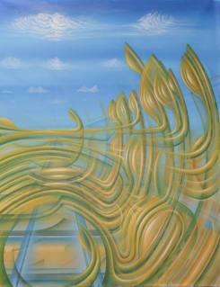 """Rekonnexion"", Acryl on Canvas"