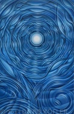 """""""Soultrip III"""", Acryl on Canvas"""