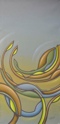 """""""Zwischendurch"""", Acryl on Canvas"""