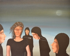 """Die Trennung"", Acryl on Canvas, 2010"