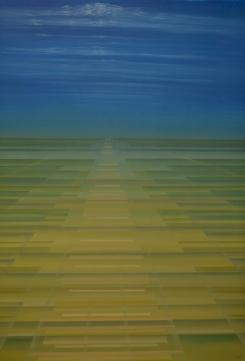 """""""It´s so far"""", Acryl on Canvas, 2014"""